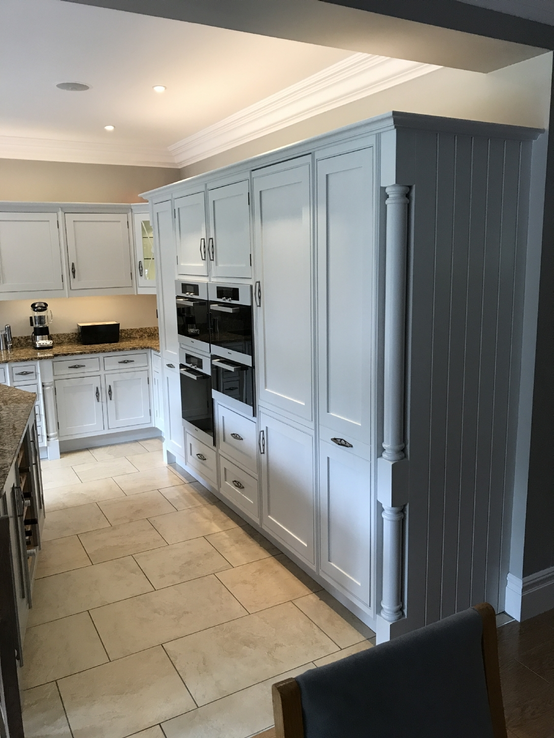 Hand Painted Kitchen in Four Oaks, Sutton Coldfield by M J Guest Limited